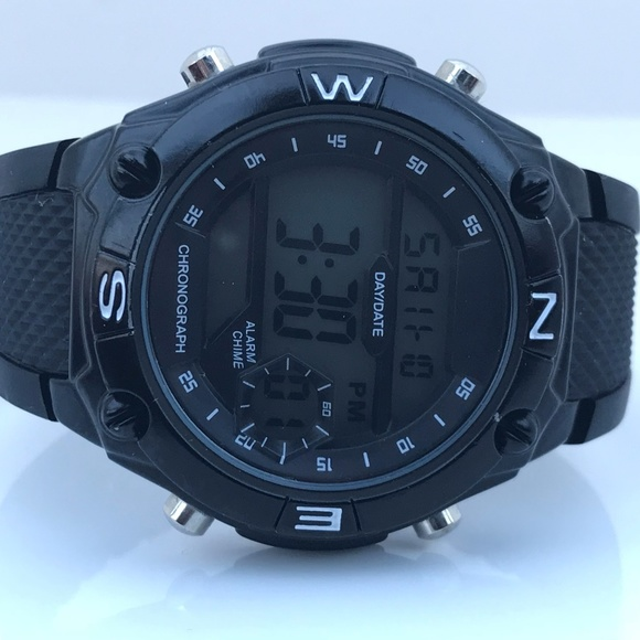 Accutime Other - AccuTime Men Watch Chronograph Alarm Day/Date Digi